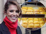 Cheryl Fernandez-Versini surprises Greggs customers in Newcastle by serving up chocolate bars to them\n\nShe worked behind the counter of a sandwich shop before hitting the big time and today Cheryl Fernandez-Versini was back in Newcastle serving up tasty treats to unsuspecting Greggs customers.\n \nTo celebrate the launch of the fundraising partnership between Cheryløs Trust and Greggs, the X Factor judge surprised customers by turning up at a number of Greggs shops in the city.\n \nThis morning Cheryl visited Greggs in Gosforth, the Quayside and Eldon Square, where she delighted customers by giving away free samples of a new limited edition Belgian Chocolate Crunch Bar.\n \nGreggs is supporting the starøs charity by donating 5p from every purchase of its new treat, which went on sale on Tuesday and will be available for an eight-week period. The money raised will help Cheryløs Trust support disadvantaged young people in the North East of England.\n\nCheryl Fernandez Versini outside