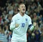 European Qualifier. England v Switzerland 08/09/15: Picture Kevin Quigley/solo syndication  Wayne Rooney scores 2-0 to break the record