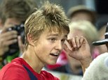 DRAMMEN, NORWAY - SEPTEMBER 07:  Martin Odegaard of Norway greets fans after the U21 International match between Norway and England at Marienlyst Stadium on September 7, 2015 in Drammen, Norway.  (Photo by Trond Tandberg/Getty Images)