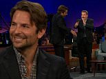 """LOS ANGELES, CA ñ September 8, 2015: The Late Late Show with James Corden\nActors Bradley Cooper, Jake McDorman, and Andrew Garfield visit with James. Wiz Khalifa and Fall Out Boy perform.\nOnce Craig Ferguson retired, James Corden has taken over The Late Late Show. The show is a late night talk show that interviews celebrities and has its own bits. And of course, it's all hosted by James Corden. s \nPhotograph:©CBS  """"Disclaimer: CM does not claim any Copyright or License in the attached material. Any downloading fees charged by CM are for its services only, and do not, nor are they intended to convey to the user any Copyright or License in the material. By publishing this material, The Daily Mail expressly agrees to indemnify and to hold CM harmless from any claims, demands or causes of action arising out of or connected in any way with user's publication of the material."""""""