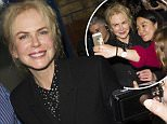 nicole kidman leaves theatre after performance\nFeaturing: nicole kidman\nWhere: London, United Kingdom\nWhen: 08 Sep 2015\nCredit: Tim McLees/WENN.com