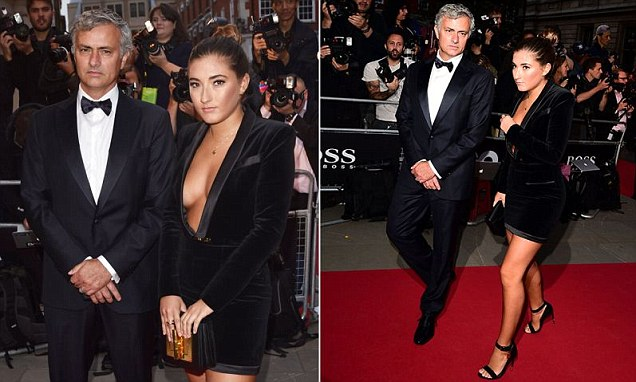 Jose Mourinho's braless daughter Matilde stuns at GQ Men Of The Year Awards