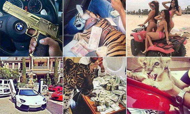 El Chapo's sons spark Instagram battles between Mexican cartel members showing off their
