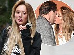 Mandatory Credit: Photo by Beretta/Sims/REX Shutterstock (5031727n)  Charlotte Crosby and Max Morley  Charlotte Crosby out and about, London, Britain - 03 Sep 2015