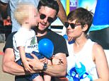 Billy Elliot star Jamie Bell at Malibu Chili Cook-Off with his son and girlfriend Kate Mara Featuring: Jamie Bell, Kate Mara Where: Los Angeles, California, United States When: 07 Sep 2015 Credit: Winston Burris/WENN.com