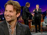 """LOS ANGELES, CA ? September 8, 2015: The Late Late Show with James Corden\nActors Bradley Cooper, Jake McDorman, and Andrew Garfield visit with James. Wiz Khalifa and Fall Out Boy perform.\nOnce Craig Ferguson retired, James Corden has taken over The Late Late Show. The show is a late night talk show that interviews celebrities and has its own bits. And of course, it's all hosted by James Corden. s \nPhotograph:�CBS  """"Disclaimer: CM does not claim any Copyright or License in the attached material. Any downloading fees charged by CM are for its services only, and do not, nor are they intended to convey to the user any Copyright or License in the material. By publishing this material, The Daily Mail expressly agrees to indemnify and to hold CM harmless from any claims, demands or causes of action arising out of or connected in any way with user's publication of the material."""""""