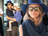 Jessica Alba and Honor Warren wear matching hats when arriving in NYC\n\nPictured: Jessica Alba and Honor Warren\nRef: SPL1119614  080915  \nPicture by: XactpiX/Splash\n\nSplash News and Pictures\nLos Angeles: 310-821-2666\nNew York: 212-619-2666\nLondon: 870-934-2666\nphotodesk@splashnews.com\n