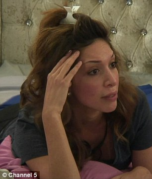 'You are an intimidating person': James Hill confronted Farrah Abraham in Tuesday's Celebrity Big Brother