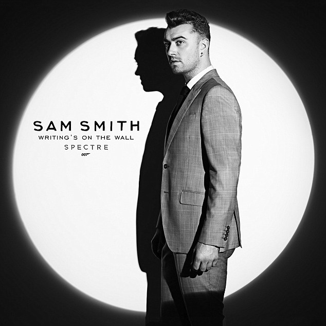Confirmed: Sam confirmed that he had penned and recorded the new theme song Wirting's On The Wall for the new James Bond, Spectre on Monday night