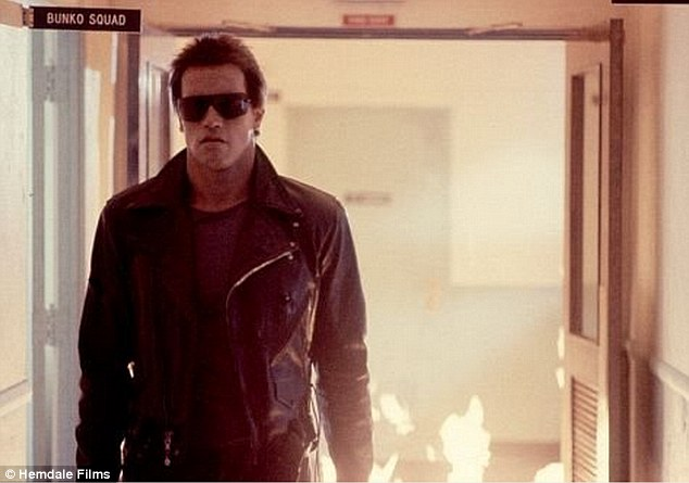 Iconic: Arnold Schwarzenegger brought to life the robot Terminator in 1984