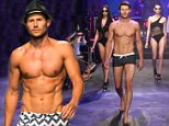 SYDNEY, AUSTRALIA - AUGUST 05:  Jason Dundas and models showcase designs by Jets during rehearsal ahead of the David Jones Spring/Summer 2015 Fashion Launch at David Jones Elizabeth Street Store on August 5, 2015 in Sydney, Australia.  (Photo by Brendon Thorne/Getty Images for David Jones)