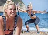 "All the pictures should be credited to Max Lawless/No 1 Boot Camp. No charge for pictures and I am fine to distribute.  Former Pussycat Doll Ashley Roberts is given a tough time at a Military fitness camp but admits: ""I wanted to get my ass kicked!"" * Star lost 4lbs training at No 1 Boot Camp in Ibiza; * She got in shape as rumours mount that the American girl group are set to reform three years after splitting; * Ashley lost weight in yoga sessions on the cliffs overlooking an idyllic bay and tough circuits on the beach with an ex-Royal Navy instructor; * Fitness boot camp was a lot more pleasant than the jungle where the food was 'atrocious.'   Pussycat Dolls singer Ashley Roberts is put through her paces by a former Royal Navy fitness instructor but she admitted: ""I wanted to get my ass kicked."" The blonde beauty trainer told the instructors at No 1 Boot Camp in Ibiza to go really hard on her as she spent a week at the exclusive retreat getting in shape. Ashley, 33, said her boot c"