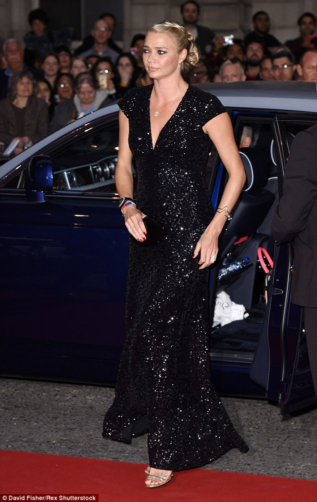 Here she comes! Jodie Kidd looked flawless at the GQ Men Of The Year Awards, held at London's Royal Opera House on Tuesday evening