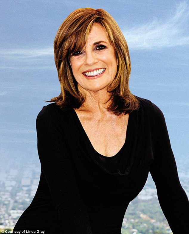 Bumpy road: it wasn't until Linda Gray was hired to play JR Ewing's wife Sue Ellen on the long-running television drama, Dallas, that she started to work through her demons, she writes in her new memoir, The Road to Happiness is Always Under Construction