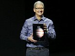 Apple CEO Tim Cook introduces the new iPad Pro during an Apple media event in San Francisco, California, September 9, 2015. Reuters/Beck Diefenbach
