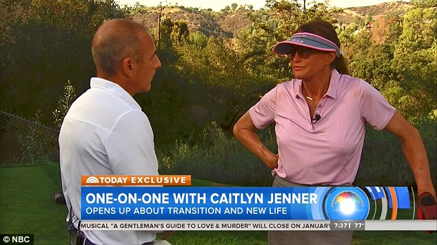 Opening up: In a revealing interview with Matt Lauer, Jenner said she could not say much about the crash as she is involved in litigation, but did admit her fears over possibly being sent to Los Angeles Men's County Jail