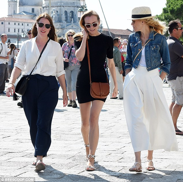 VIPs: The two actress are among the famous faces sitting on the official Venezia 72 Competition Jury