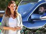 Pacific Palisades, CA - Jennifer Garner beams with beauty as she takes her kids out for an ice cream treat with some friends in Pacific Palisades, California. Jennifer looked amazing as she stepped out with her girls Seraphina and Violet, in a pair of denim jeans, a white v-neck tee and an oversized sweater with makeup, this hot momma looks like she's back on the market. \nAKM-GSI         September 8, 2015\nTo License These Photos, Please Contact :\nSteve Ginsburg\n(310) 505-8447\n(323) 423-9397\nsteve@akmgsi.com\nsales@akmgsi.com\nor\nMaria Buda\n(917) 242-1505\nmbuda@akmgsi.com\nginsburgspalyinc@gmail.com
