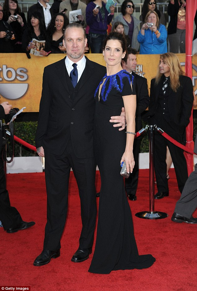 Her type? The Oscar winner was married toMonster Garage host Jesse James from 2005 to 2010, until they split following reports he had cheated