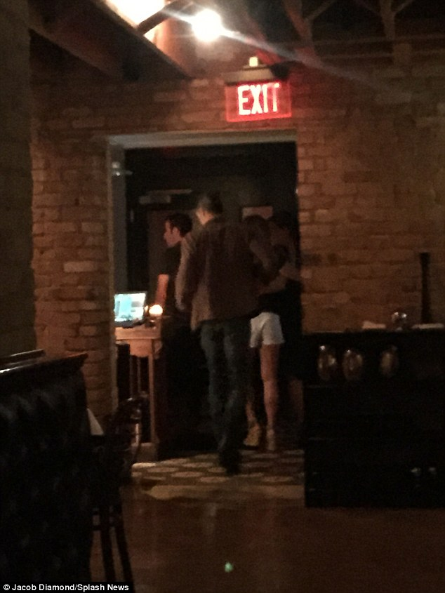 Dinner with friends: On Saturday, Sandra and Bryan were spotted on a double date with newlyweds Jennifer Aniston and Justin Theroux, at Bess Bistro in Austin Texas, which is owned by the Gravity star