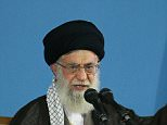 """A handout photo provided by the office of Iran's supreme leader Ayatollah Ali Khamenei shows him delivering a speech during a meeting in Tehran on September 9, 2015. Khamenei said that he would not permit negotiations with the United States beyond those that culminated in a nuclear deal with six world powers in July. """"We allowed negotiation with US only on nuclear issue for certain reasons,"""" Khamenei said. """"In other areas we did not and will not allow negotiations with US."""" AFP PHOTO / HO / KHAMENEI.IR   ==RESTRICTED TO EDITORIAL USE - MANDATORY CREDIT """"AFP PHOTO / HO / KHAMENEI.IR"""" - NO MARKETING NO ADVERTISING CAMPAIGNS - DISTRIBUTED AS A SERVICE TO CLIENTS ==-/AFP/Getty Images"""