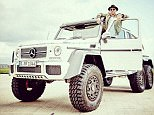 'What do you think?' Hamilton claimed he's considering purchasing a  £370,000 Mercedes G63 AMG
