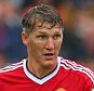 Bastian Schweinsteiger of Manchester United during the Barclays Premier League match between Swansea City and Manchester United played at the Liberty Stadium, Swansea
