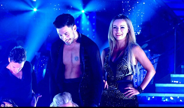 Competition forAljaž and Gleb arrived in the shape of Italian professional, Giovanni Pernice, 25