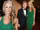 Mandatory Credit: Photo by David Fisher/REX Shutterstock (5052792cx)\n Ronan Keating and Storm Uechtritz\n GQ Men of the Year Awards, London, Britain - 08 Sep 2015\n \n
