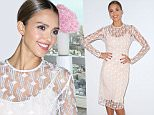 NEW YORK, NY - SEPTEMBER 09:  Jessica Alba celebrates the launch of Honest Beauty at the Trump SoHo Hotel on September 9, 2015 in New York City.  (Photo by Sonia Moskowitz/WireImage)