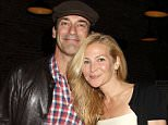 Mandatory Credit: Photo by Startraks Photo/REX Shutterstock (4913916a).. Jon Hamm and Jennifer Westfeldt.. 'Wet Hot American Summer: First Day of Camp' Netflix TV series premiere, after party, New York, America - 22 Jul 2015.. ..