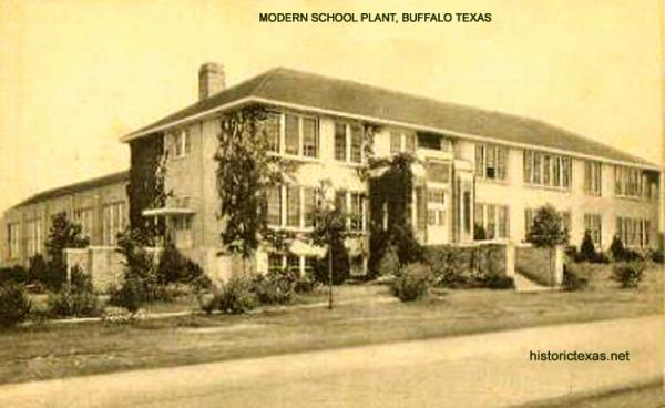 Modern School Plant, Buffalo, Texas