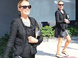 """7.SEPTEMBER.2015 - BEVERLY HILLS - USA ***EXCLUSIVE ALL ROUND PICTURES*** *STRICTLY AVAILABLE FOR UK AND GERMANY USE ONLY* TV PRESENTER CAT DEELEY IS ALL SMILES AS SHE'S PICTURED HEADING TO THE HAIR SALON FOR SOME PAMPERING IN BEVERLY HILLS AFTER RECENTLY ANNOUNCING SHE IS PREGNANT, CAT DEELEY AND HUSBAND PATRICK KIELTY ARE EXPECTING THEIR FIRST CHILD TOGETHER. THE COUPLE WHO MARRIED IN A SECRET CEREMONY IN ROME IN 2012 ANNOUNCED THE HAPPY NEWS ON TWITTER LATE ON THURSDAY NIGHT ' EXCITING NEWS...PADDY AND I ARE SO HAPPY TO BE EXPECTING OUR FIRST CHILD IN THE SPRING....LUCKY US"""" 38 YEAR OLD CAT TOLD HER FOLLOWERS. BYLINE MUST READ : XPOSUREPHOTOS.COM ***UK CLIENTS - PICTURES CONTAINING CHILDREN PLEASE PIXELATE FACE PRIOR TO PUBLICATION *** *UK CLIENTS MUST CALL PRIOR TO TV OR ONLINE USAGE PLEASE TELEPHONE 0208 344 2007*"""