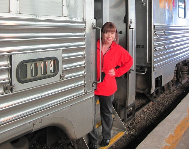 Before the cabin of her cruise ship, Viv tries a sleepover on a train through the Rockies