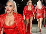 8 Sep 2015 - HOLLYWOOD - USA  RITA ORA AT JIMMY KIMMEL   BYLINE MUST READ : XPOSUREPHOTOS.COM  ***UK CLIENTS - PICTURES CONTAINING CHILDREN PLEASE PIXELATE FACE PRIOR TO PUBLICATION ***  **UK CLIENTS MUST CALL PRIOR TO TV OR ONLINE USAGE PLEASE TELEPHONE  44 208 344 2007 ***