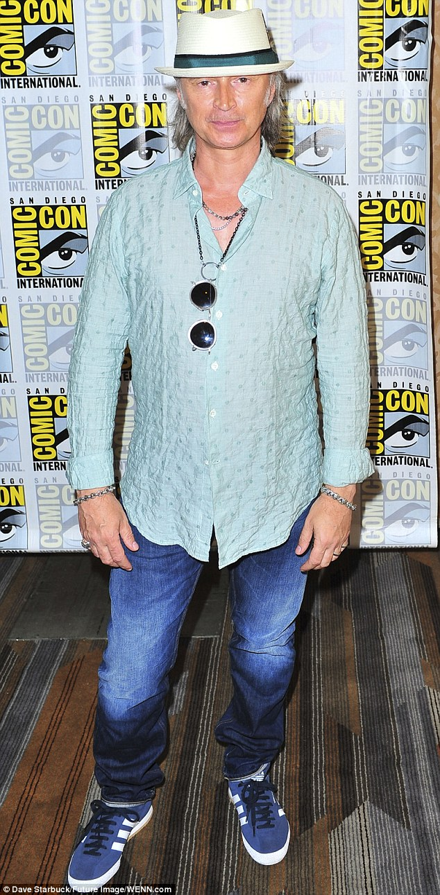 Robert Carlyle is currently in US fantasy drama Once Upon A Time, pictured at San Diego Comic-Con