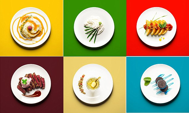 Eating for Two Cookbook features photos of expectant mums' food combinations