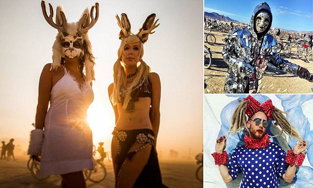 Burning Man 2015's craziest costumes from naked angels to sideshow freaks