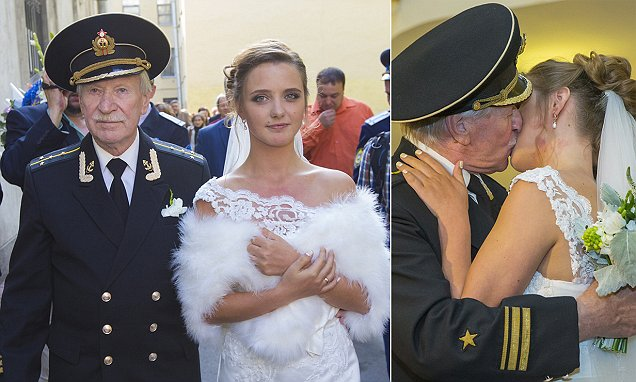 Russian actor Ivan Krasko, 84, plans to start family with new wife, 24