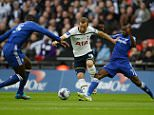 Chelsea 2 V Tottenham Hotspur 0, Capital One Cup final, Wembley.  Tottenham's Harry Kane    Picture Andy Hooper Daily Mail/ Solo Syndication