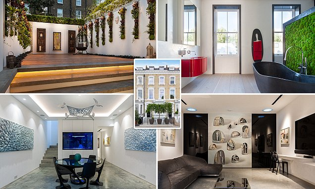 Chelsea mansion complete with its own art gallery goes on the market for £14m