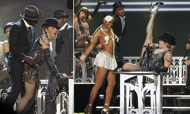 Madonna shamelessly cavorts with much younger dancer during Rebel Heart tour