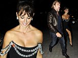 MADRID, SPAIN - SEPTEMBER 09:  Penelope Cruz and Javier Bardem (L) are seen attending the party after the premiere of 'Ma Ma' on September 9, 2015 in Madrid, Spain.  (Photo by Europa Press/Europa Press via Getty Images)