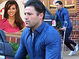 10.SEPTEMBER.2015 - ESSEX - UK **EXCLUSIVE ALL ROUND PICTURES** REALITY STAR MARK WRIGHT LOOKING A LITTLE DOWNCAST HEADING TOWARDS HIS CAR AS HE LEAVES HIS HOME IN ESSEX ON CRUTCHES. BYLINE MUST READ : XPOSUREPHOTOS.COM ***UK CLIENTS - PICTURES CONTAINING CHILDREN PLEASE PIXELATE FACE PRIOR TO PUBLICATION*** UK CLIENTS MUST CALL PRIOR TO TV OR ONLINE USAGE PLEASE TELEPHONE 0208 344 2007