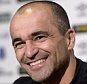 HALEWOOD, ENGLAND - SEPTEMBER 10:  Roberto Martinez  attends an Everton press conference at Finch Farm on September 10, 2015 in Halewood, England.  (Photo by Tony McArdle/Everton FC via Getty Images)