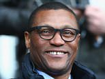 HULL, ENGLAND - MARCH 22:  Chelsea technical director Michael Emenalo looks on prior to the Barclays Premier League match between Hull City and Chelsea at KC Stadium on March 22, 2015 in Hull, England.  (Photo by Matthew Lewis/Getty Images)