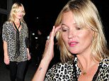 11 Sep 2015 - LONDON - UK  SUPERMODEL KATE MOSS IS SPOTTED ATTENDING A FRIENDS CELEBRATIONS AT THE PARADISE PUB IN KENSAL GREEN .SADIE FROST AND ANNABEL NIELSON WERE ALSO IN ATTENDANCE OF FAT TONYS PARTY . KATE IS ALSO SPOTTED WITH A COPY OF HEAT MAGAZINE .  BYLINE MUST READ : XPOSUREPHOTOS.COM  ***UK CLIENTS - PICTURES CONTAINING CHILDREN PLEASE PIXELATE FACE PRIOR TO PUBLICATION ***  **UK CLIENTS MUST CALL PRIOR TO TV OR ONLINE USAGE PLEASE TELEPHONE   44 208 344 2007 **