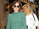 Mandatory Credit: Photo by Startraks Photo/REX Shutterstock (5064943b)  Dakota Johnson  Dakota Johnson out andabout, New York, America - 10 Sep 2015  Dakota Johnson Leaves her Noho Hotel