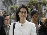 File - In this March 27, 2015, file photo, Ellen Pao walks to Civic Center Courthouse in San Francisco. Pao, who lost her high-profile gender discrimination lawsuit against Silicon Valley venture capital firm Kleiner Perkins Caufield & Byers, said Thursday, Sept. 10, 2015, that she is dropping her appeal and ending the case that became a flashpoint on inequality in the tech industry. (AP Photo/Jeff Chiu, File)