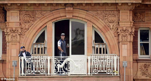 Dressing room unrest: Strauss has to focus his charges' minds on the job in hand